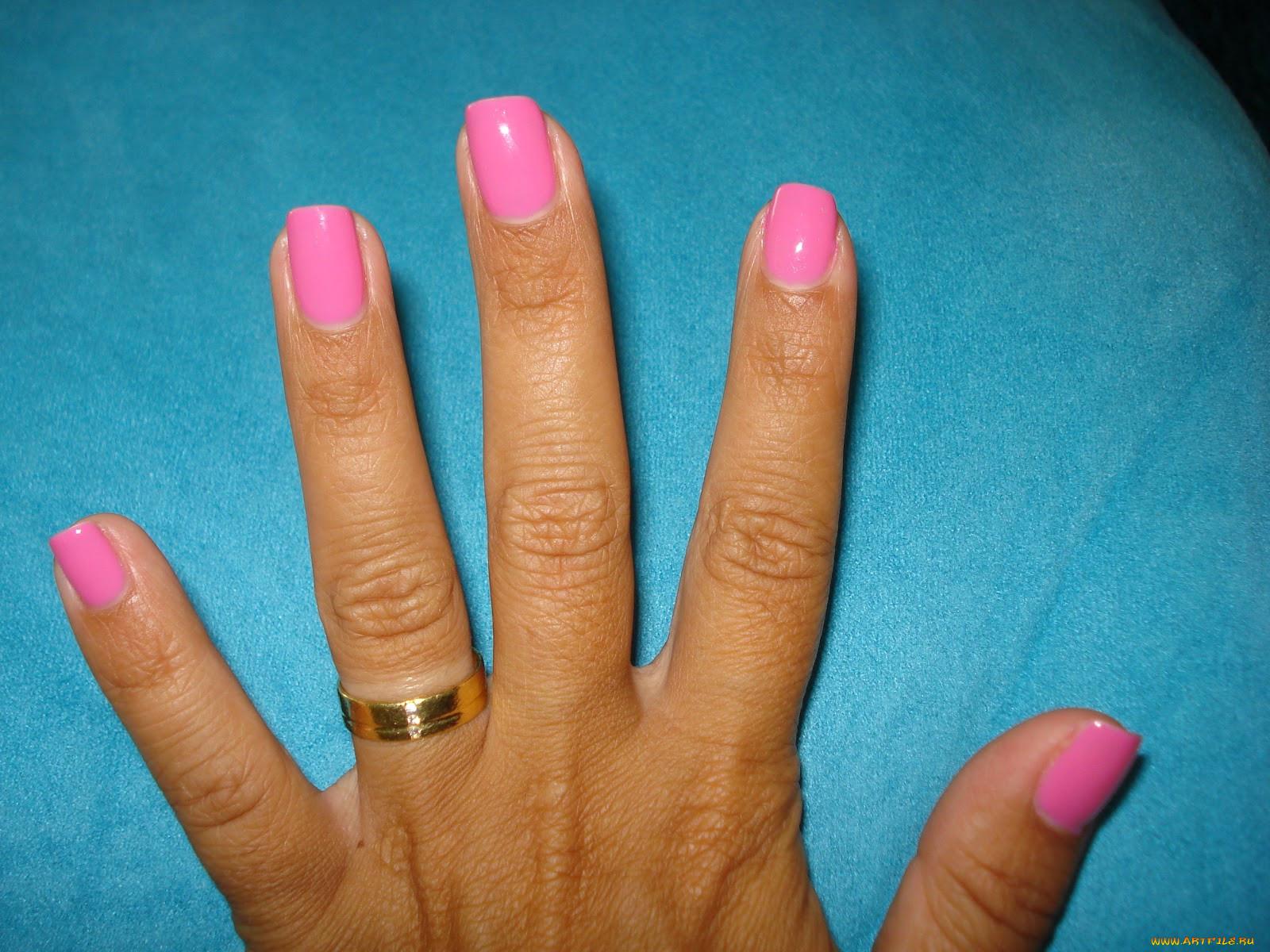 Фото разных ногтей на одной руке